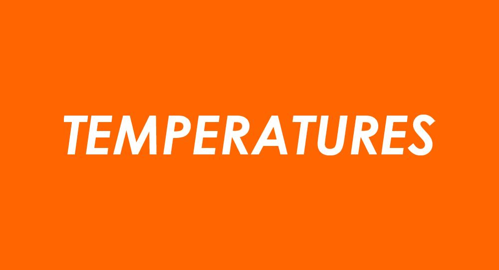 Temperatures - Ideal for Growing