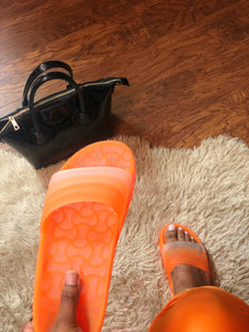 Kinsley Slide - Orange
