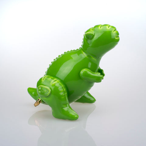 Small Inflatable Carnotaurus Green