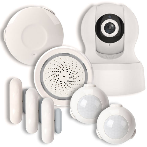 Home Monitoring Alarm System | BAZZ Smart Home