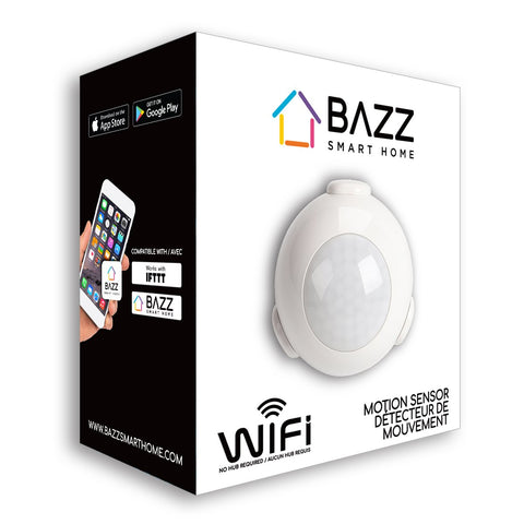 Smart WiFi Motion Sensor | Self-Monitored Security System