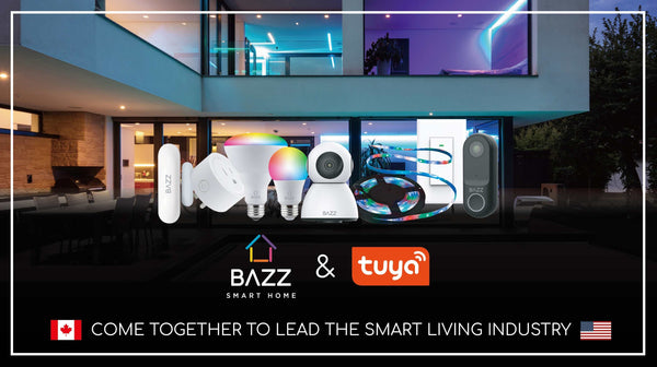 BAZZ Smart Home Joins Forces With Tuya Smart