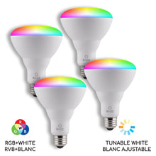 Load image into Gallery viewer, BR30 Smart WiFi RGB LED Bulb