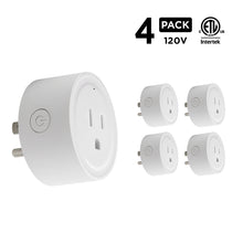 Load image into Gallery viewer, Smart Wi-Fi Plug (4-Pack)