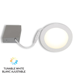 "6"" Smart WiFi White LED Recessed Light Fixture"