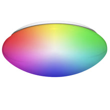 "Load image into Gallery viewer, 14"" Smart Wifi RGB + White ceiling fixture"