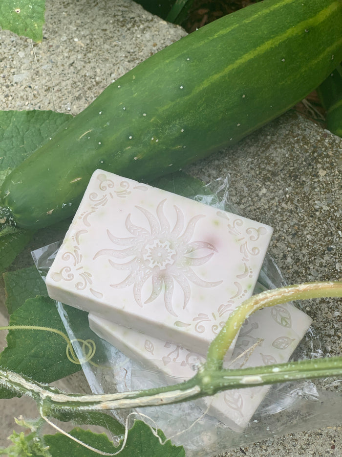 Aloe cucumber mint Soap