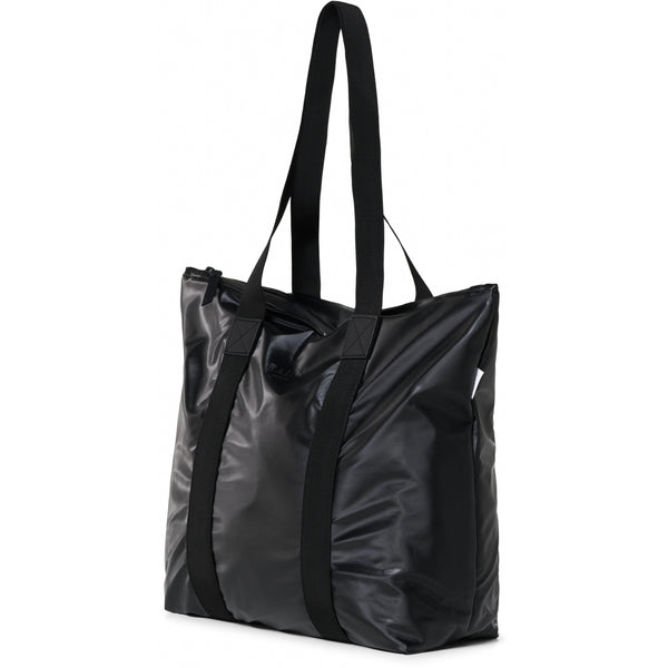 1225 Tote Bag Rush Shiny Black
