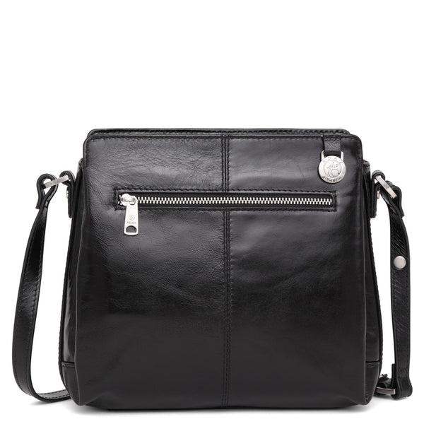 Adax 229869 Salerno shoulder bag Sia Black