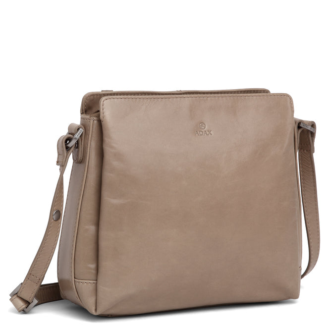 Adax Salerno shoulder bag Sia Latte