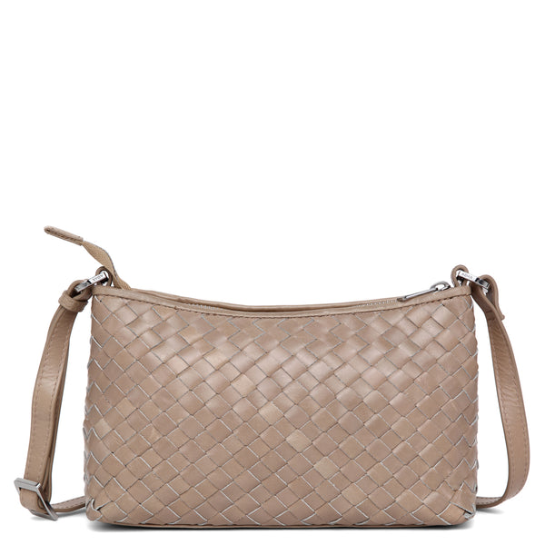 Adax Bacoli shoulder bag Smilla Latte