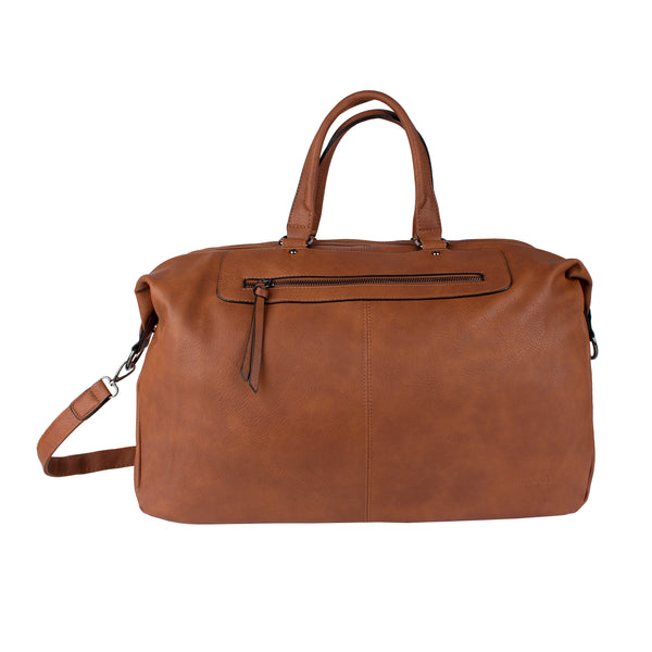 4391122 Weekendbag Cognac
