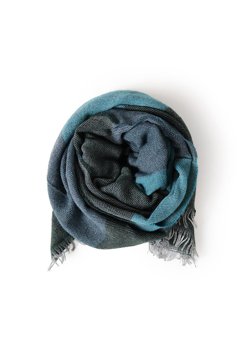 Seattle Scarf Dark Green