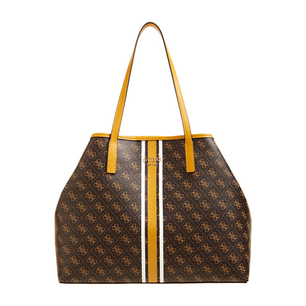 VIKKY LARGE TOTE BROWN