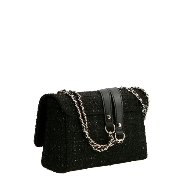 CESSILY CONVERTIBLE XBODY FLAP BLACK