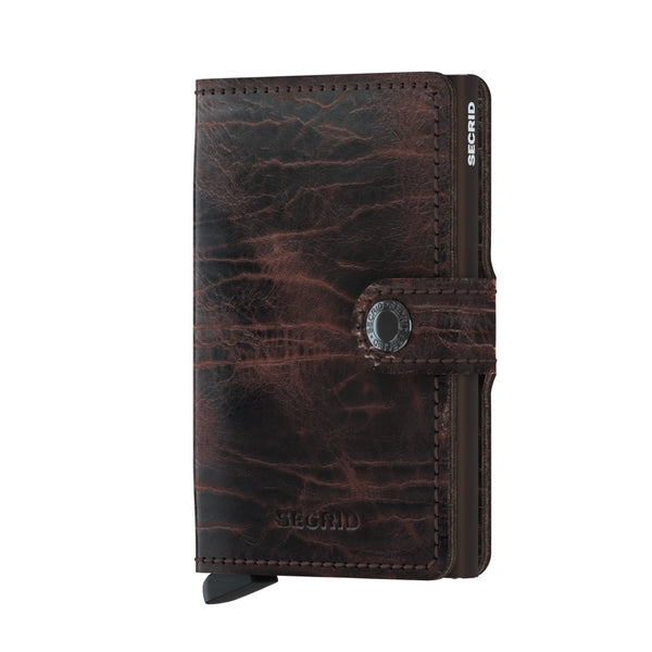 Secrid Miniwallet M Dutch Martin Cacao-Brown 900285830