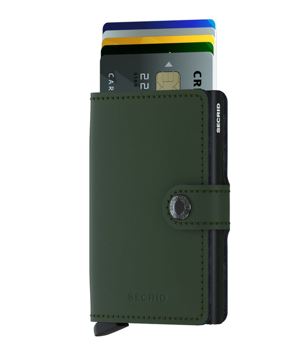 Secrid Miniwallet MM Green-Black 900285847