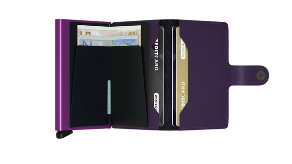 Secrid  Miniwallet MM purple 900285298