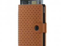 Secrid Miniwallet M Perforated cognac