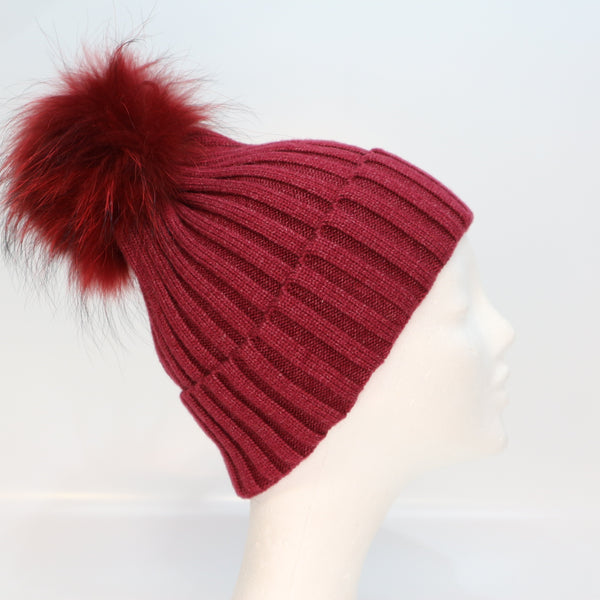 Rae Hat Burgundy