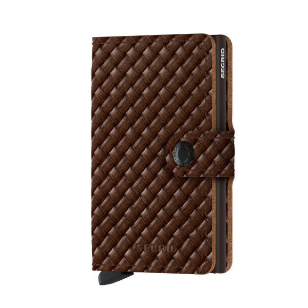 Miniwallet MBa Basket brown