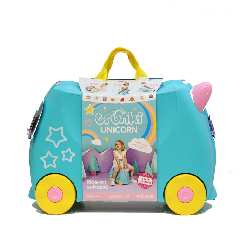 Trunki 0287-GB01 Barnekoffert Una Unicorn -