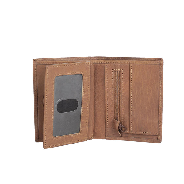 Wallet small Cognac
