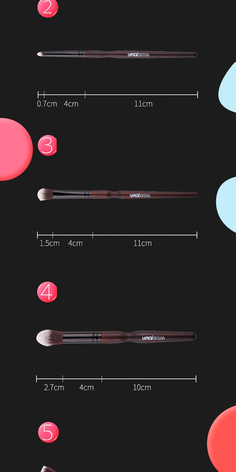 yaqi cosmetic makeup brush