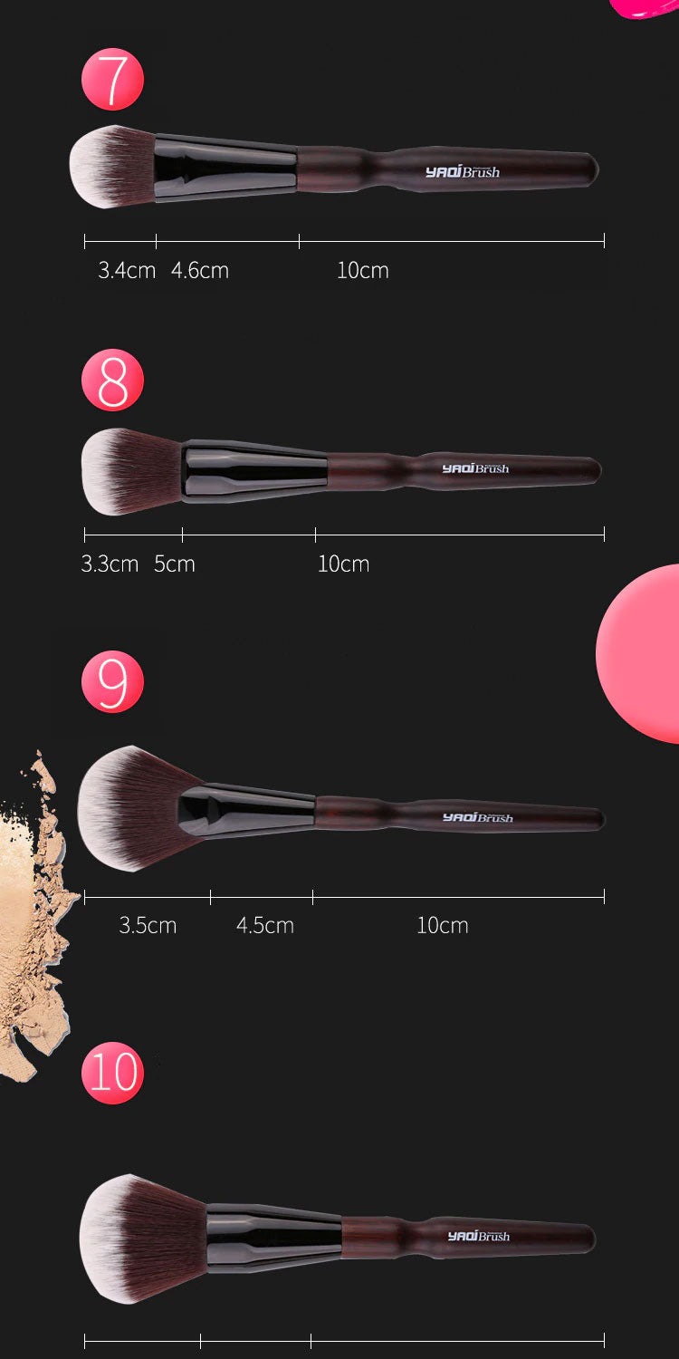 yaqi cosmetic brush