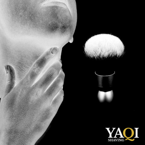 yaqi shaving brush ad