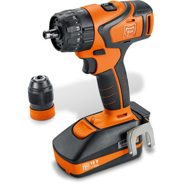 ASB 18 QC 2-speed cordless hammer drill/driver