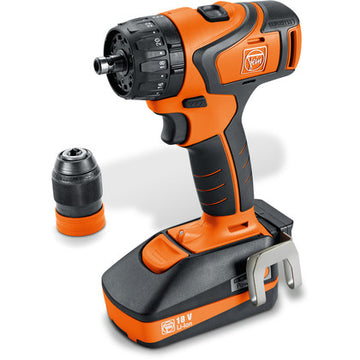 ABS 18 QC 2-speed cordless drill/driver