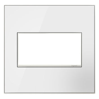 MIRROR WHITE ON WHITE, WHITE TRIM