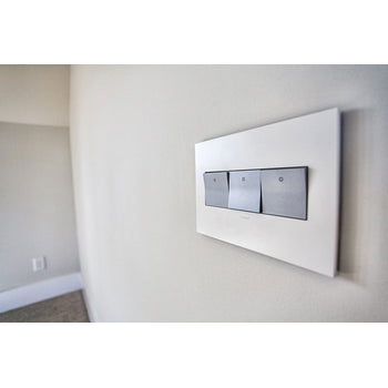 WALL PLATE, GLOSS WHITE