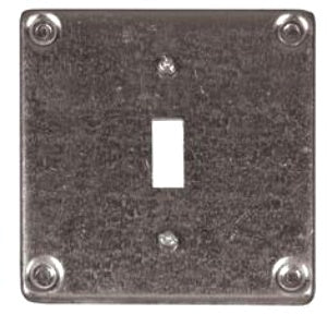 Hubbell SQUARE CVR 4IN 1G to 2G TOGGLE