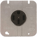 Cooper 3 Pole/4 Wire Rectangular Round Power Receptacle