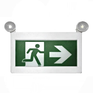 Prolite Exit Sign with 2 heads