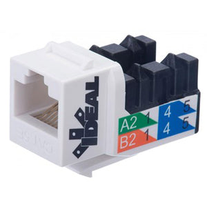 Ideal Cat6 250MHz 8P8C Keystone Jack
