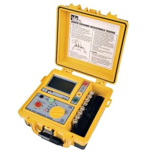 Ideal 3-Pole Ground Resistance Tester - Includes TL-796 Lead Set Kit
