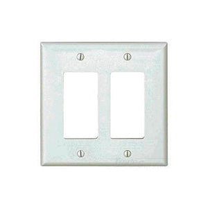 Cooper 2-Gang Unbreak Wallplate