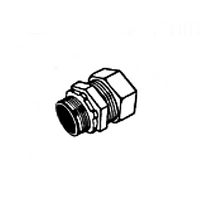 Zinc Die Cast Compression Connector for EMT