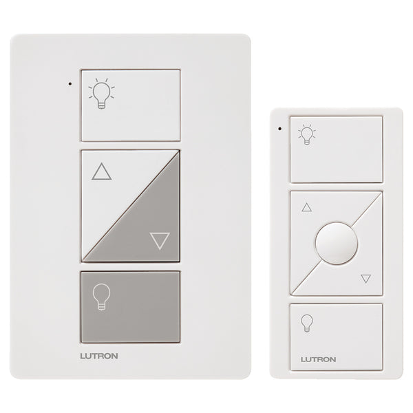 Lutron Caseta 100-Watt White 3-Way CFL/LED Wireless Digital Dimmer with Remote Control