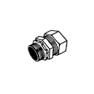 Nesco Zinc Die Cast Compression Connector for EMT - Insulated Throat