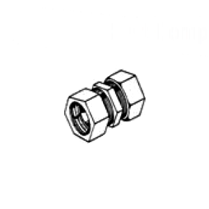 Zinc Die Cast Compression Coupling for EMT