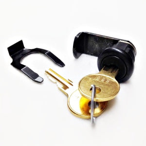Bel Flush Lock  Kit 1/4 Turn Latch