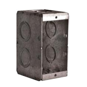 Hubbell Masonry Box 2X3.75X3.5IN 1G