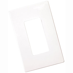 Cooper 1-Gang Decorator Screwless Wallplate