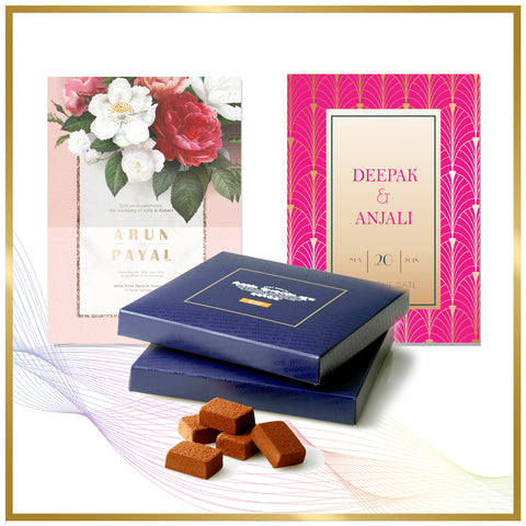 Customized Gifting Invitation Cards Hampers Sweets Chocolates Boxes Online India Delhi Gurgaon NCR