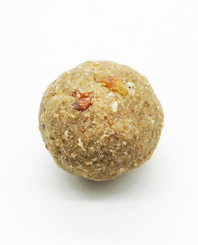 Methi / Fenugreek Laddoo (nuts, clarified butter)