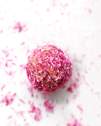 Oats Flaxseeds Pink Bliss Ball